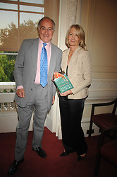 MICHAEL HOWARD MP and his wife SANDRA HOWARD at a party to celebrate the publication of her book 'Ursula's Stor' held at The British Academy, 10 Carlton House Terace, London on 4th September 2007.<br />