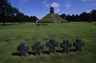 german military cemetery in la cambe Normandy France  /   la cambe  France    cimetière de guerre allemand  la cambe  France