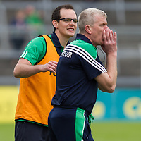 Limerick's Paul Kinnerk with manager John Kiely