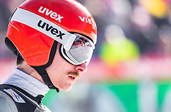 22.03.2019, Planica, Ratece, SLO, FIS Weltcup Ski Sprung, Skiflug, Einzelbewerb, Wertungssprung, Finale, im Bild Richard Freitag (GER) // Richard Freitag of Germany during his competition jump of the Ski Flying Hill individual competition of the FIS Ski Jumping World Cup Final 2019. Planica in Ratece, Slovenia on 2019/03/22. EXPA Pictures © 2019, PhotoCredit: EXPA/ JFK