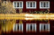 Different locations in Sweden. Mostly Värmland. Red house with white windows..Photo: © Claus Sjödin 2009 - cspress.dk.