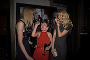 Jade Parfitt, Camilla Rutherford and Claudia Schiffer, Dom Perignon and Claudia Schiffer host a celebration of Dom Perignon Oenotheque 1995. The Landau, Portland Place. London W1. 26 February 2008.  *** Local Caption *** -DO NOT ARCHIVE-© Copyright Photograph by Dafydd Jones. 248 Clapham Rd. London SW9 0PZ. Tel 0207 820 0771. www.dafjones.com.