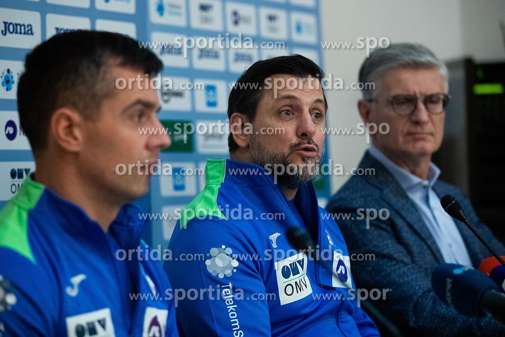 Ljubomir Vranjes head coach of Slovenian national team during media day of Slovenian national handball team on December 27, 2019 in Zrece, Slovenia. Photo By Grega Valancic / Sportida