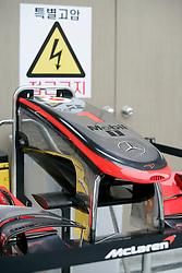 Motorsports / Formula 1: World Championship 2010, GP of Korea, technical detail, Vodafone McLaren Mercedes