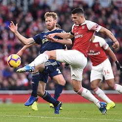 Arsenal v Fulham, Premier League, 1 January 2019