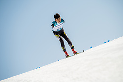 March 17, 2018 - Pyeongchang, SOUTH KOREA - 180317 Chenyang Wang of Japan competes in the men's 10 km standing cross-country skiing during day eight of the 2018 Winter Paralympics on March 17, 2018 in Pyeongchang..Photo: Vegard Wivestad GrÂ¿tt / BILDBYRN / kod VG / 170134 (Credit Image: © Vegard Wivestad Gr¯Tt/Bildbyran via ZUMA Press)