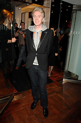 PHILIP TREACY at a dinner in honour of Francisco Costa of Calvin Klein hosted by Vogue at the Fifth Floor restaurant, Harvey Nichols, London on 28th March 2007.<br />