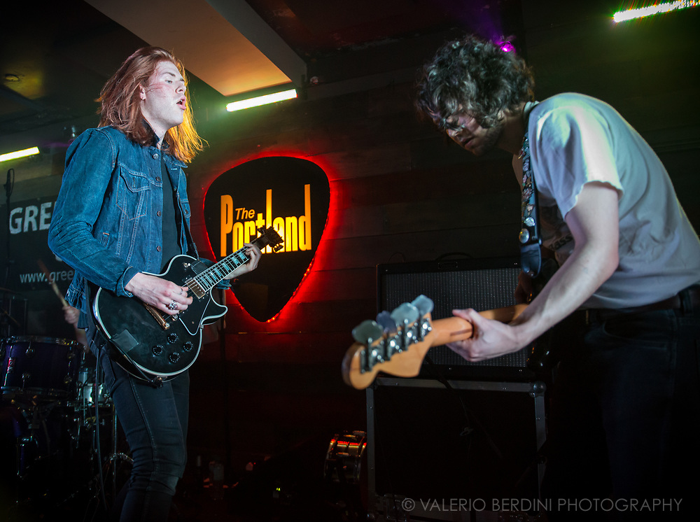 The Amazons live at the sold-out Portland Arms in Cambridge. The Reading band has been selected by the  BBC as one of the bands to watch in 2017.