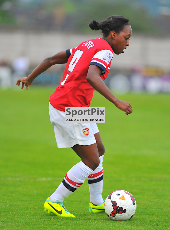 Danielle Carter (ARS) during the Arsenal Ladies v Birmingham City Ladies FA Womens Super League match at Borehamwood FC on Wed 21 May 2014 (c) Ian Nancollas | SportPix.org.uk