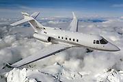 Hawker 800XP with AVPARTNERS winglets