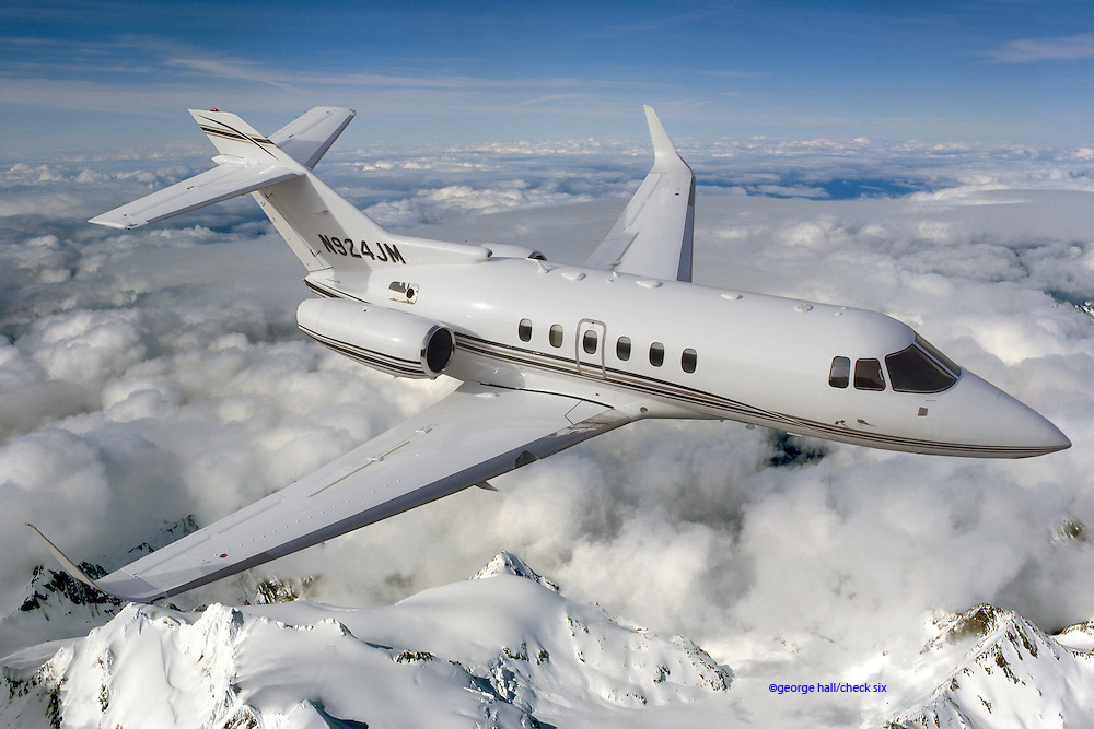 Hawker 800XP with AVPARTNERS winglets