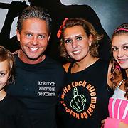 NLD/Amsterdam/20121117 - Danny de Munk 30 jaar in het vak, Danny de Munk met partner Jenny en kinderen Bo en Davy