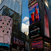Times Square at daytime. New York City. NYC.USA