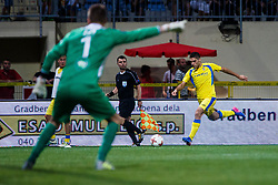 Matija Sirok #8 of NK Domzale during 2nd Leg football match between FC Valur Reykjavik and NK Domzale in 2nd Qualifying Round of UEFA Europa League 2017/18, on July 20, 2017 in Domzale, Slovenia. Photo by Grega Valancic / Sportida