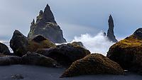 Reynisfjara beach, southcoast of Iceland.