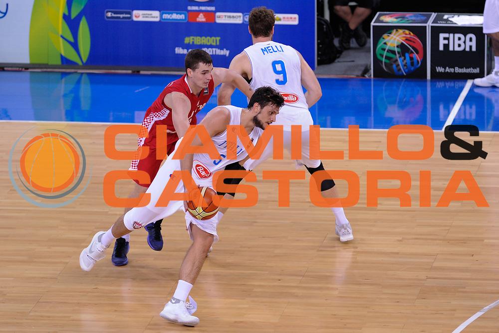 DESCRIZIONE: Torino FIBA Olympic Qualifying Tournament Italia - Croazia<br /> GIOCATORE: Alessandro Gentile<br /> CATEGORIA: Nazionale Italiana Italia Maschile Senior<br /> GARA: FIBA Olympic Qualifying Tournament Italia - Croazia<br /> DATA: 05/07/2016<br /> AUTORE: Agenzia Ciamillo-Castoria