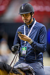 Sheikh Ali Al Thani Bin Khalid, QAT, First Devision<br /> World Cup Final Jumping - Las Vegas 2015<br /> © Hippo Foto - Dirk Caremans<br /> 16/04/2015