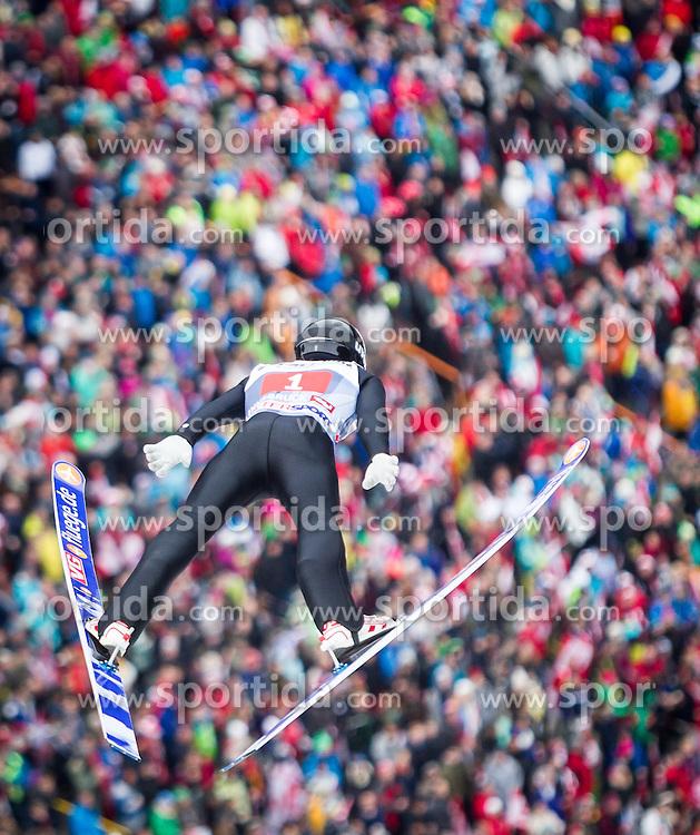 04.01.2014, Bergisel Schanze, Innsbruck, AUT, FIS Ski Sprung Weltcup, 62. Vierschanzentournee, Bewerb, im Bild Anders Fannemel (NOR) // Anders Fannemel (NOR) during Competition of 62nd Four Hills Tournament of FIS Ski Jumping World Cup at the Bergisel Schanze, Innsbruck, Austria on 2014/01/04. EXPA Pictures © 2014, PhotoCredit: EXPA/ JFK