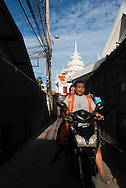 Thailand. Bangkok. Thonburi area/ Thonburi