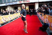 Aisleyne Horgan Wallace, The Infidel premiere. Apollo theatre, Hammersmith. London. 8 April 2010