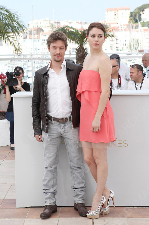 19.MAY.2011. CANNES<br /> <br /> JAN CORNET AND BIANCA SUARE AT THE PHOTOCALL FOR THE SKIN I LIVE AT THE 64TH CANNES INTERNATIONAL FILM FESTIVAL 2011 IN CANNES, FRANCE. <br /> <br /> BYLINE: EDBIMAGEARCHIVE.COM<br /> <br /> *THIS IMAGE IS STRICTLY FOR UK NEWSPAPERS AND MAGAZINES ONLY*<br /> *FOR WORLD WIDE SALES AND WEB USE PLEASE CONTACT EDBIMAGEARCHIVE - 0208 954 5968*