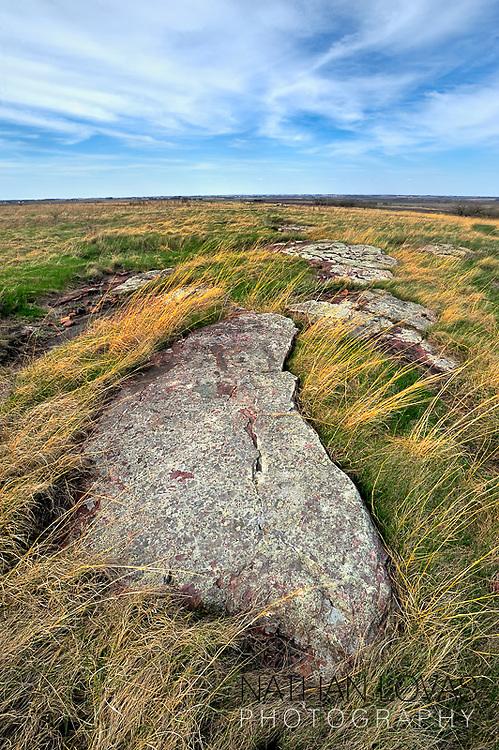 Blue Mounds State Park ;  Minnesota.