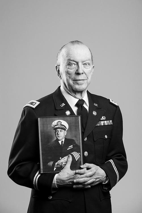 Thomas G. Pemberton<br /> Navy, Army<br /> O-4<br /> Transportation, Logistics, Port Ops<br /> July 15, 1955 - July 15, 1975<br /> Korea, Vietnam<br /> <br /> Veterans Portrait Project<br /> Alpharetta, GA