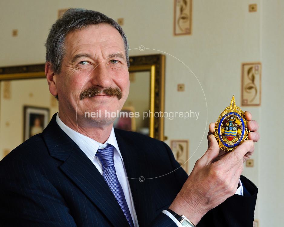 The Mayor of Hornsea, John Whittle, Hornsea, East Yorkshire