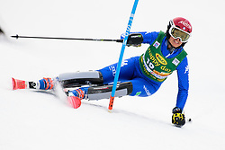 January 7, 2018 - Kranjska Gora, Gorenjska, Slovenia - Irene Curtoni of Italy competes on course during the Slalom race at the 54th Golden Fox FIS World Cup in Kranjska Gora, Slovenia on January 7, 2018. (Credit Image: © Rok Rakun/Pacific Press via ZUMA Wire)