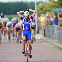 Bert Jan Lindeman wint de Heuvelen omloop met start en finish in Hellendoorn