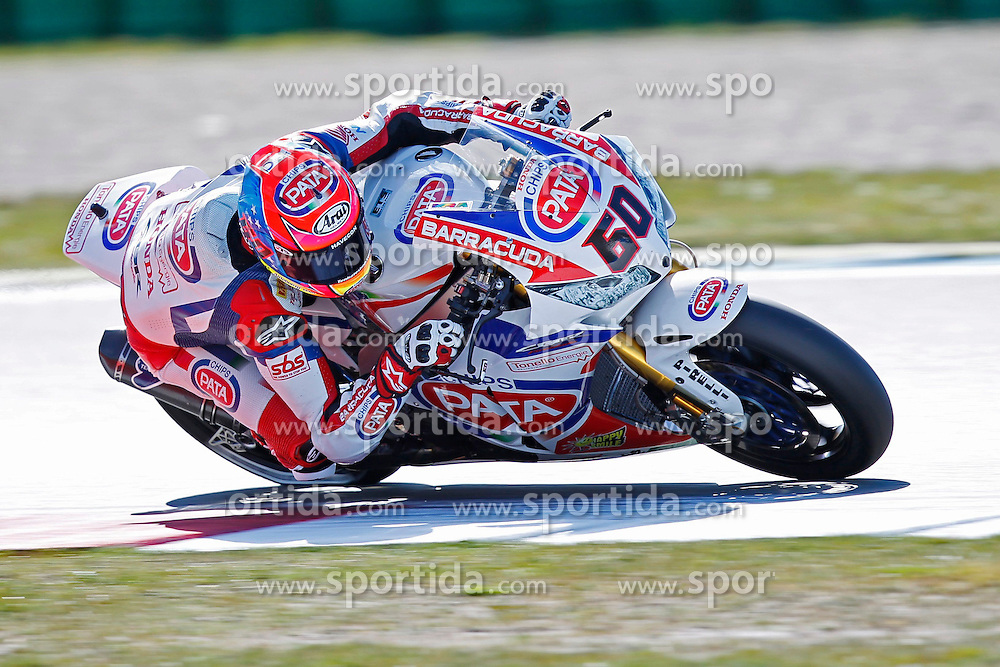 18.04.2015, Assen Circuit, Assen, NED, FIM, Superbike WM, Assen, Qualifying, im Bild 60 Michael vd Mark ( NED ) Honda // during the Qualifying for the FIM Superbike Dutch Grand Prix at the Assen Circuit in Assen, Netherlands on 2015/04/18. EXPA Pictures &copy; 2015, PhotoCredit: EXPA/ Eibner-Pressefoto/ Stiefel<br /> <br /> *****ATTENTION - OUT of GER*****