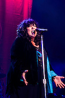 Ann Wilson, the lead singer of Heart, performs at the 2010 Lilith Fair at Mountain View, California.
