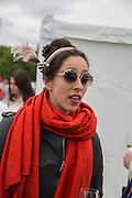 OONA CHAPLIN, Cartier Queen's Cup final at Guards Polo Club, Windsor Great Park. 16 June 2013