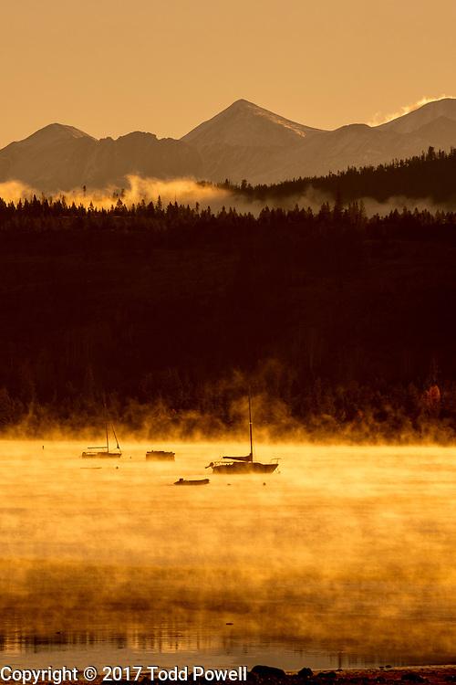 Lake Dillon and Ten Mile Range, Frisco, Colorado, Fall