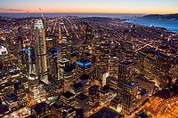 Downtown San Francisco @ Twilight