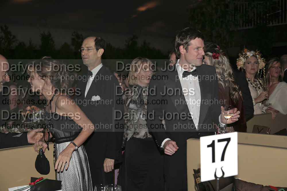 Sheherazade  and Zac Goldsmith, British Red Cross Ball, Waterloo. London. 16 November 2006.  TIME USE ONLY - DO NOT ARCHIVE  © Copyright Photograph by Dafydd Jones 66 Stockwell Park Rd. London SW9 0DA Tel 020 7733 0108 www.dafjones.com