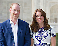 KATE Middleton & Prince William Visit the Taj Mahal, Agra