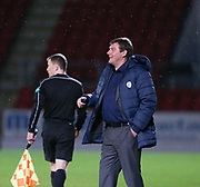 06/10/2017 - St Johnstone v Dundee - Dave Mackay testimonial at McDiarmid Park, Perth, Picture by David Young - St Johnstone boss Tommy Wright
