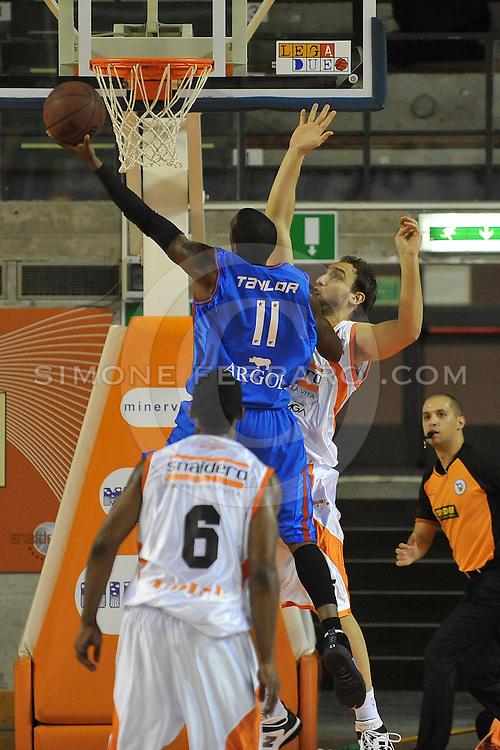 Udine, 19/12/2010..PalaCarnera. Campionato di Basket LegaDue 2010/11.  Regular Season. .Snaidero Udine vs Fastweb Casale Monferrato..Nella foto: Donell Taylor..Foto di Simone Ferraro