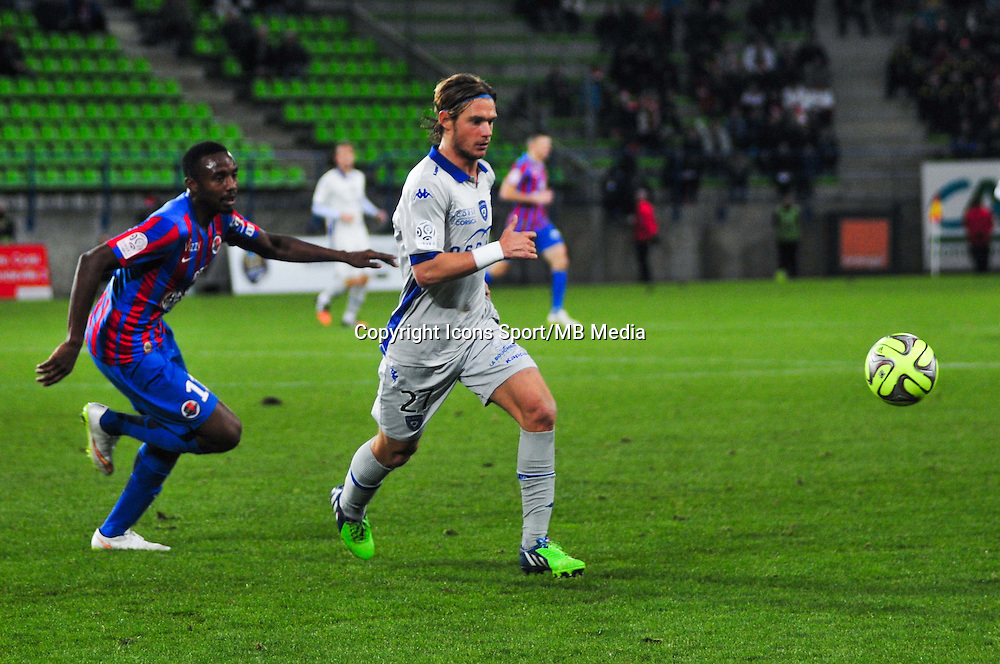 Guillaume Gillet - 20.12.2014 - Caen / Bastia - 17eme journee de Ligue 1 -<br />