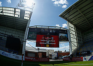 General Stadium view ahead  of Warrington Wolves vs Toronto Wolfpack during the Ladbrokes Challenge Cup match at the Halliwell Jones Stadium, Warrington<br /> Picture by Stephen Gaunt/Focus Images Ltd +447904 833202<br /> 13/05/2018