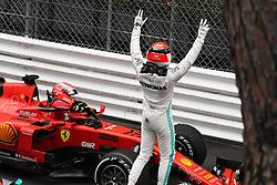 May 26, 2019 - Monte Carlo, Monaco - xa9; Photo4 / LaPresse.26/05/2019 Monte Carlo, Monaco.Sport .Grand Prix Formula One Monaco 2019.In the pic: Lewis Hamilton (GBR) Mercedes AMG F1 W10 and Sebastian Vettel (GER) Scuderia Ferrari SF90 (Credit Image: © Photo4/Lapresse via ZUMA Press)