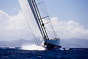 Marie Sailing in the 2011 St. Barths Bucket Race 2.p