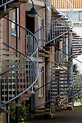 Spiral Staircases in Delft, Holland