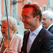 ITA/Parma/20120929- Doop prinses Luisa Irene, prins Jaime