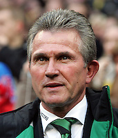 Fussball 1. Bundesliga Borussia Moenchengladbach Saison 2006/2007 Jupp Heynckes (Trainer Gladbach) im Portraet .
