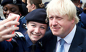 Boris Johnson Police Cadets 3rd August 2015