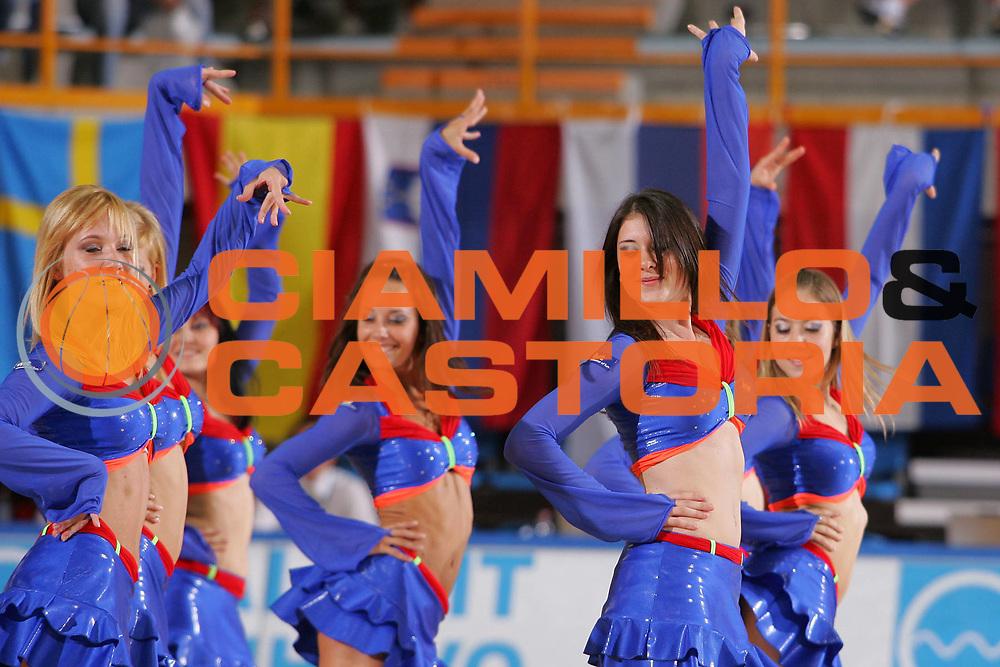 DESCRIZIONE : Gorizia U20 European Championship Men Final Serbia Spain <br /> GIOCATORE : Cheerleaders <br /> SQUADRA : <br /> EVENTO : Gorizia U20 European Championship Men Final Serbia Spain Campionato Europeo Maschile Under 20 Finale Serbia Spagna <br /> GARA : Serbia Spain <br /> DATA : 15/07/2007 <br /> CATEGORIA : <br /> SPORT : Pallacanestro <br /> AUTORE : Agenzia Ciamillo-Castoria/S.Silvestri <br /> Galleria : Europeo Under 20 <br /> Fotonotizia : Gorizia U20 European Championship Men Final Serbia Spain <br /> Predefinita :