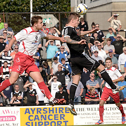 Ayr United v Stranraer | Scottish league One | 13 September 2014