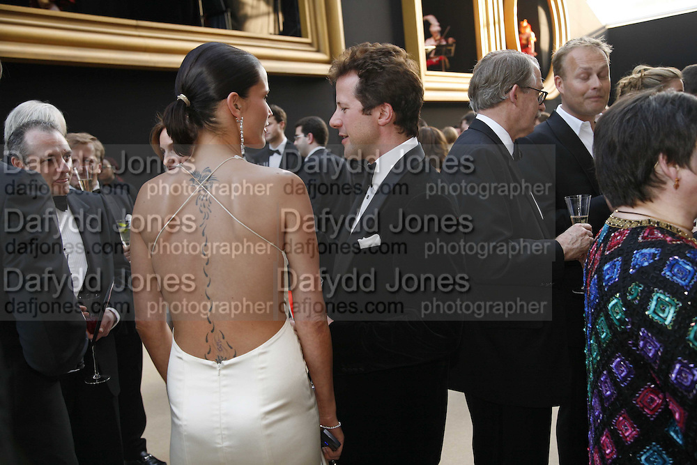 Sophie Anderton and William Turner, Ark Gala Dinner, Marlborough House, London. 5 May 2006. ONE TIME USE ONLY - DO NOT ARCHIVE  © Copyright Photograph by Dafydd Jones 66 Stockwell Park Rd. London SW9 0DA Tel 020 7733 0108 www.dafjones.com